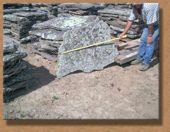 Architectural grade natural fieldstone for building and landscape construction